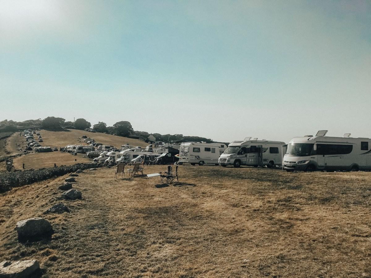 three cliff bay campsite