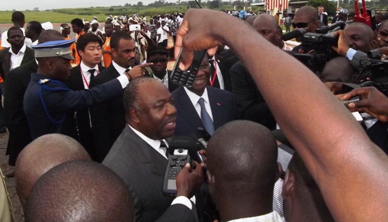 Ali Bongo ému de marcher à Yamoussoukro sur les traces des anciens