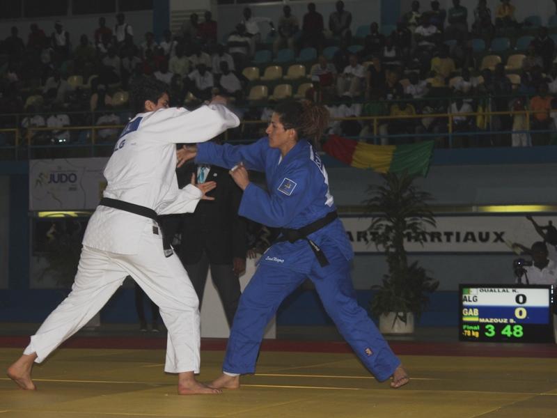 Championnat d'Afrique de Judo : Gabon 1 petite médaille, Algérie 15