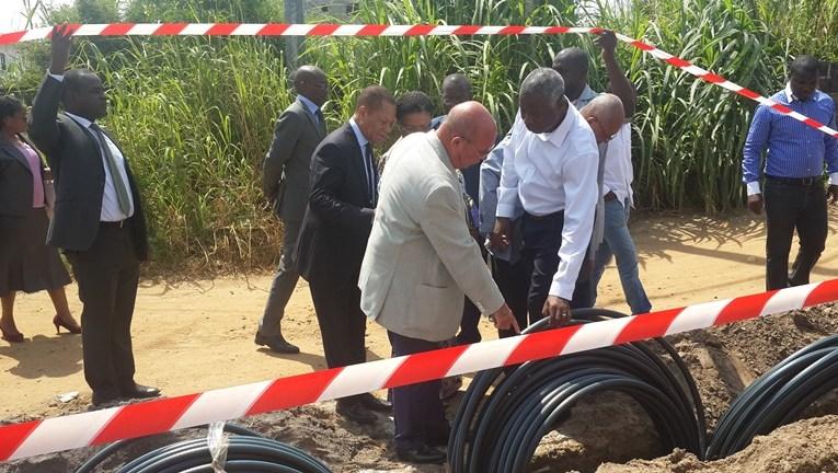 Akanda reçoit la fibre optique d'Airtel pour le haut-débit