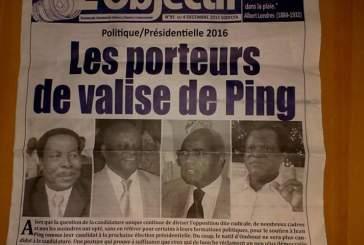 Le tacle d'un militant de l'UN contre Jean Eyeghe Ndong