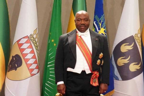 Début de la cérémonie de prestation de serment d'Ali Bongo Ondimba