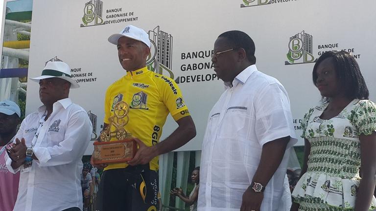 Le Français Yohann Gène sacré champion de la 12ème édition de la Tropicale Amissa Bongo