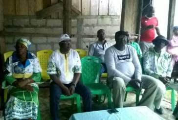 Le PDG continue sa tournée de proximité dans le canton Bokoué