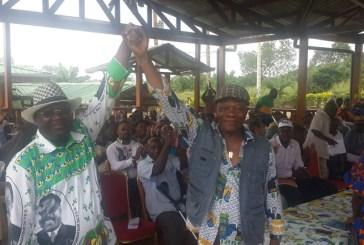 Législatives 2018 dans le Canton Bokoué : Alain Bourobou adoubé par l'honorable Mba Minko