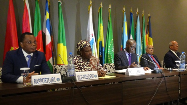 Communiqué final du Conseil de Paix et de Sécurité de l'Afrique Centrale (COPAX)