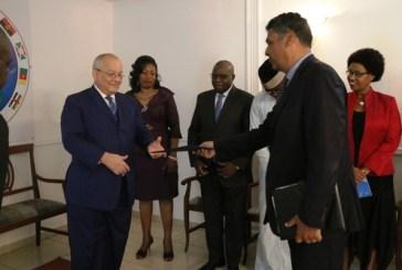 Le nouvel ambassadeur des USA au Gabon a présenté ses lettres de créances à la CEEAC