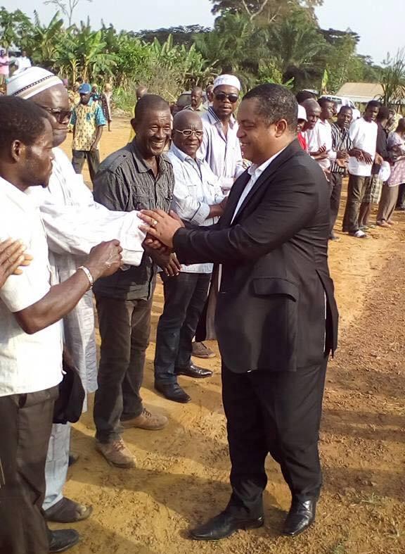 David Ella Mintsa mobilise son électorat dans le canton Mboa'a pour s'assurer une victoire sans bavure aux prochaines législatives