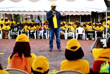 Hervé Patrick Opiangah déroule sa campagne dans son fief