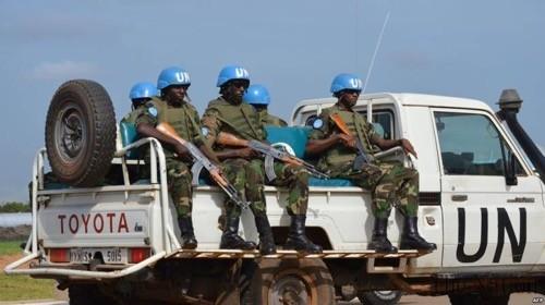 Un contingent gabonais a quitté Libreville par la route pour la Centrafrique
