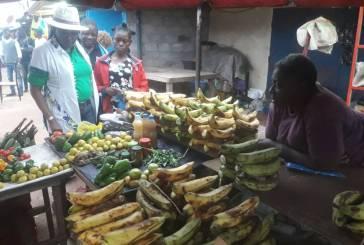 Clotilde Chantal Boumba Louey en campagne de proximité auprès des populations de Gamba