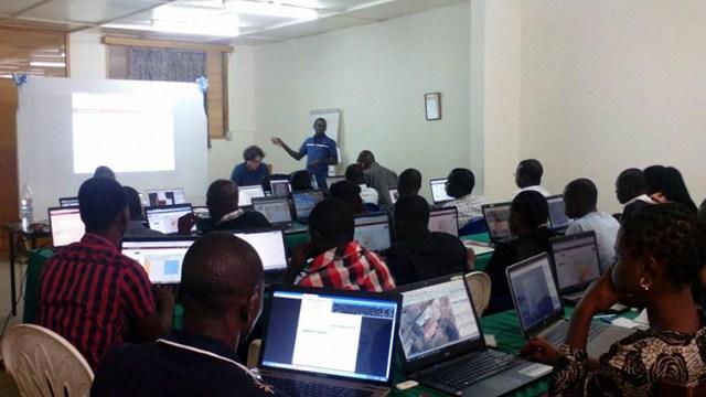 Inauguration de l'école 241 dédiée à des formations dans le secteur numérique