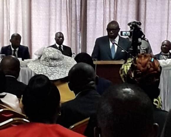 Pierre-Claver Maganga Moussavou « dépoche » 30 millions CFA au profit des sinistrés de Franceville