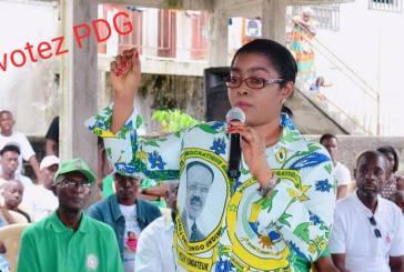 Rose Christiane Ossouka Raponda retourne dans le