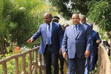 Le Premier ministre Julien Nkoghé Békalé a visité le nouveau musée des arts du Gabon