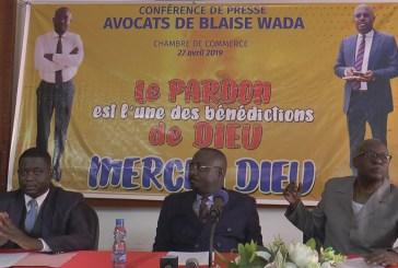 Blaise Wada a pardonné sans oublier ses 27 mois de prison