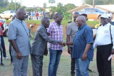 Tournée de remerciements de Guy Nzouba Ndama  aux populations de la Nyanga