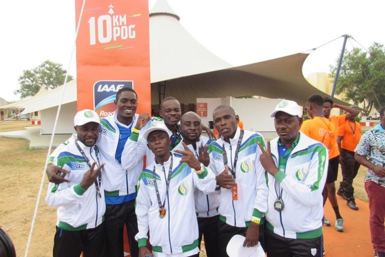 La CNSS et ses meilleurs coureurs amateurs ont marqué le 10 km de POG 2019