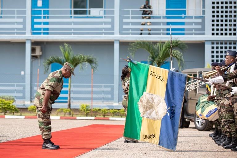 Ali Bongo salue la performance de l'armée gabonaise