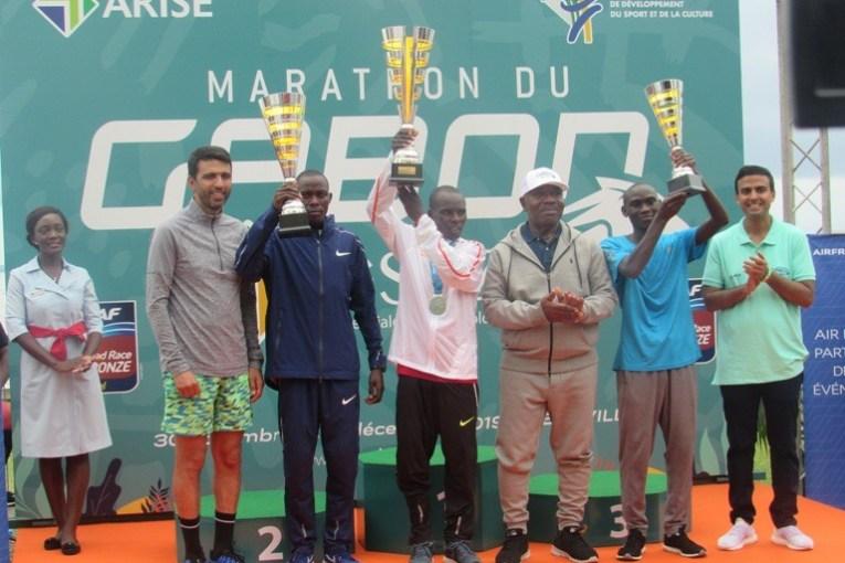 Le kenyan Alex Bartilol remporte en solitaire le Marathon du Gabon 2019