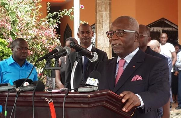 La maison Gabon est  désormais au bord de l'effondrement selon l'opposant Guy Nzouba Ndama