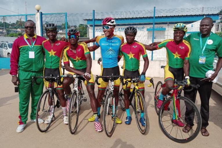 Le Burkina-Faso  rêve de remporter une étape de la Tropicale Amissa Bongo 2020