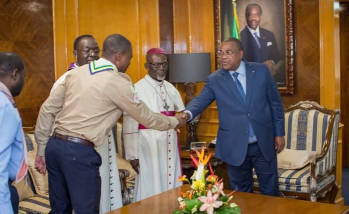 Primature: les actions des scouts du Gabon au menu d'un échange