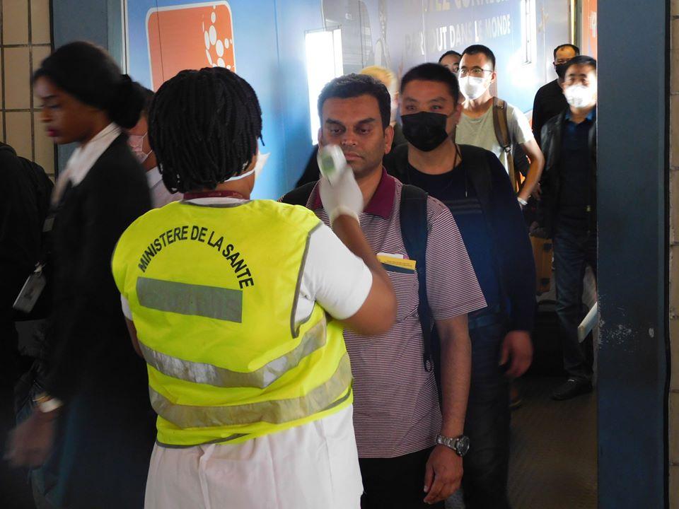 Coronavirus: Un cordon sanitaire installé à l'aéroport international Léon Mba
