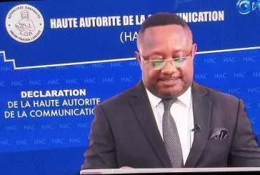 Un média en ligne gabonais radié à vie par la HAC