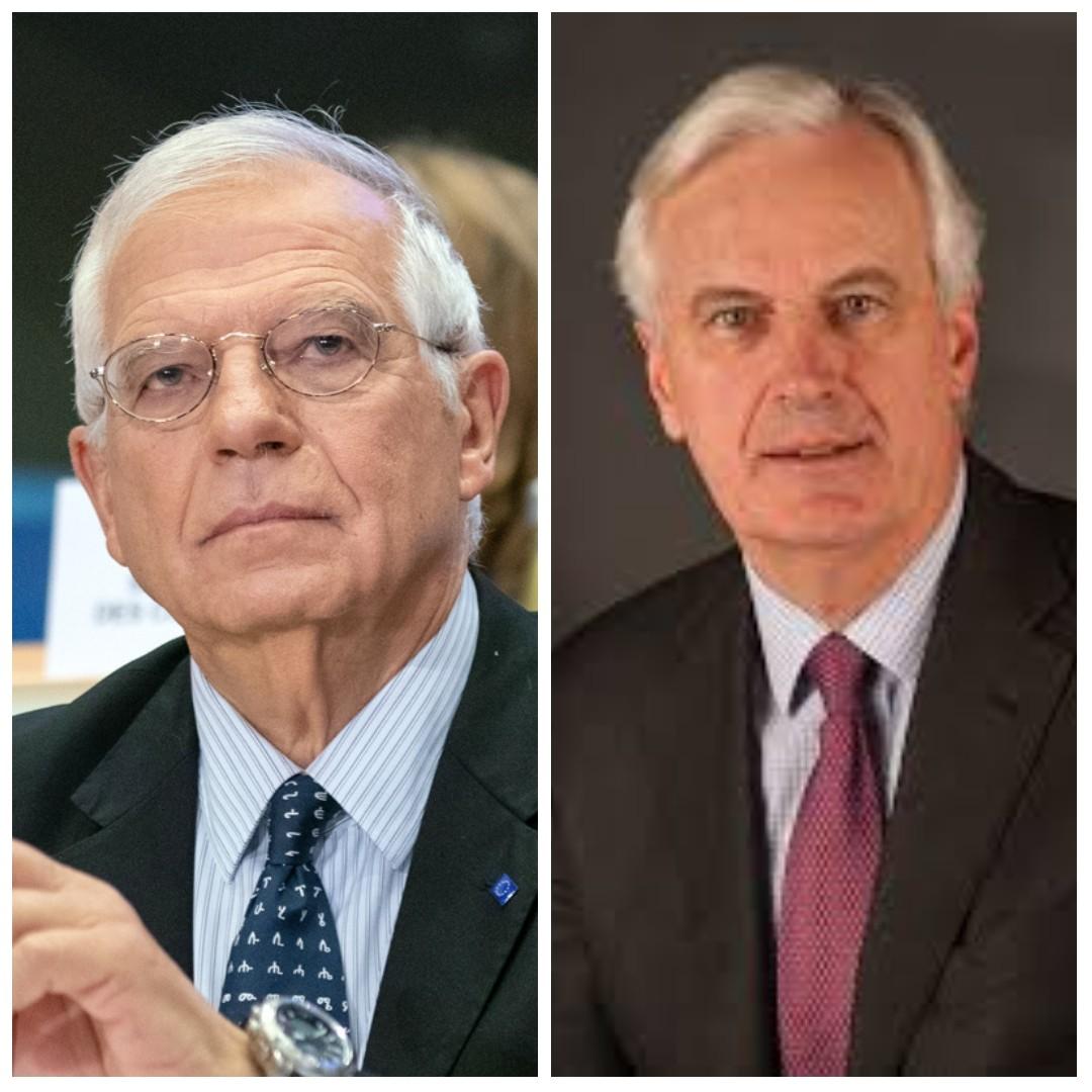 Tribune libre de Josep Borell et Michel Barnier sur le Brexit