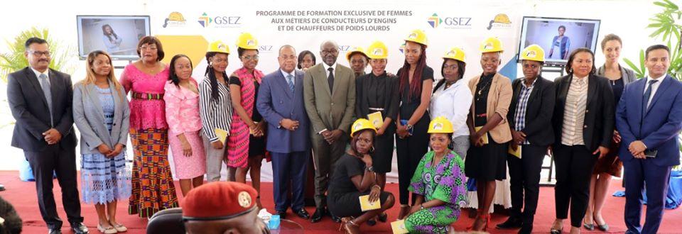 Autonomisation: GSEZ offre une formation de conductrice de poids lourds à 50 femmes