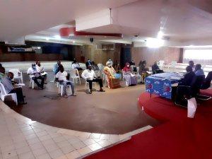 Tous les membres du Directoire du CLR étaient présents à la réunion extraordinaire © Com CLR