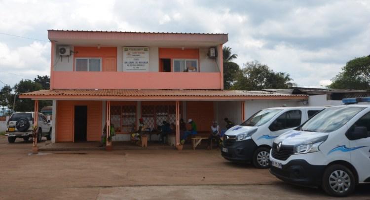 Antenne du samu social gabonais à Moanda / Gabonactu.com