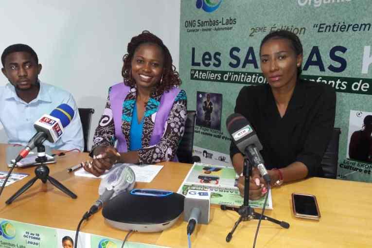 Josiane Matené lance la 2ème édition des Sambas Kids pour booster la créativité des enfants de 7 à 17 ans
