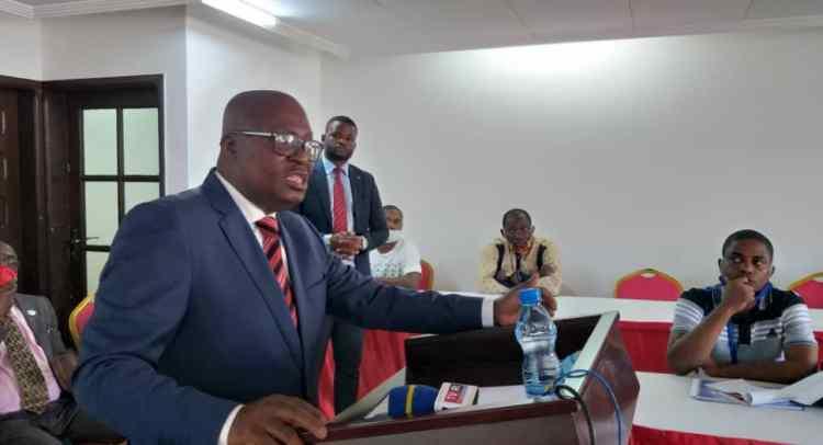 Jean de Dieu Moukagni Iwangou le 24 octobre 2020 / Gabonactu.com