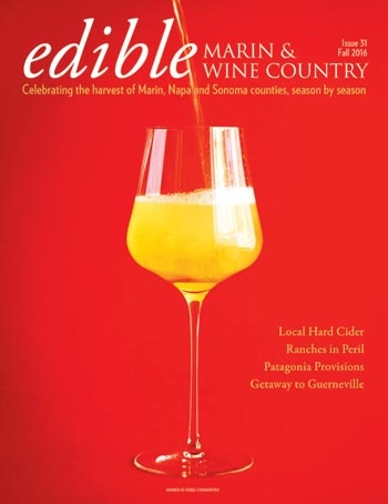 We made the cover of Edible Marin!