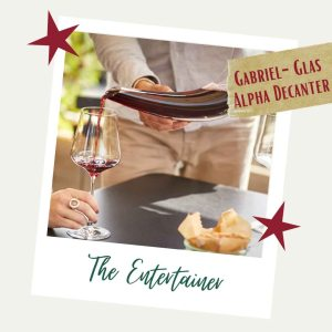 The Entertainer - Gabriel-Glas Gift Guide