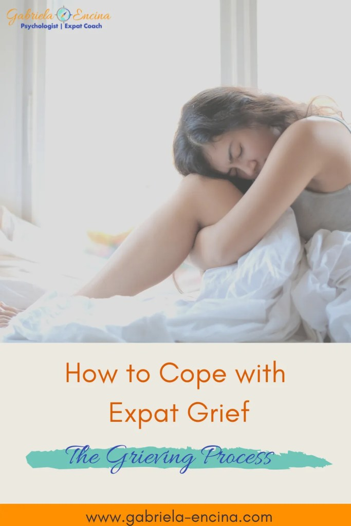 how to cope with expat grief