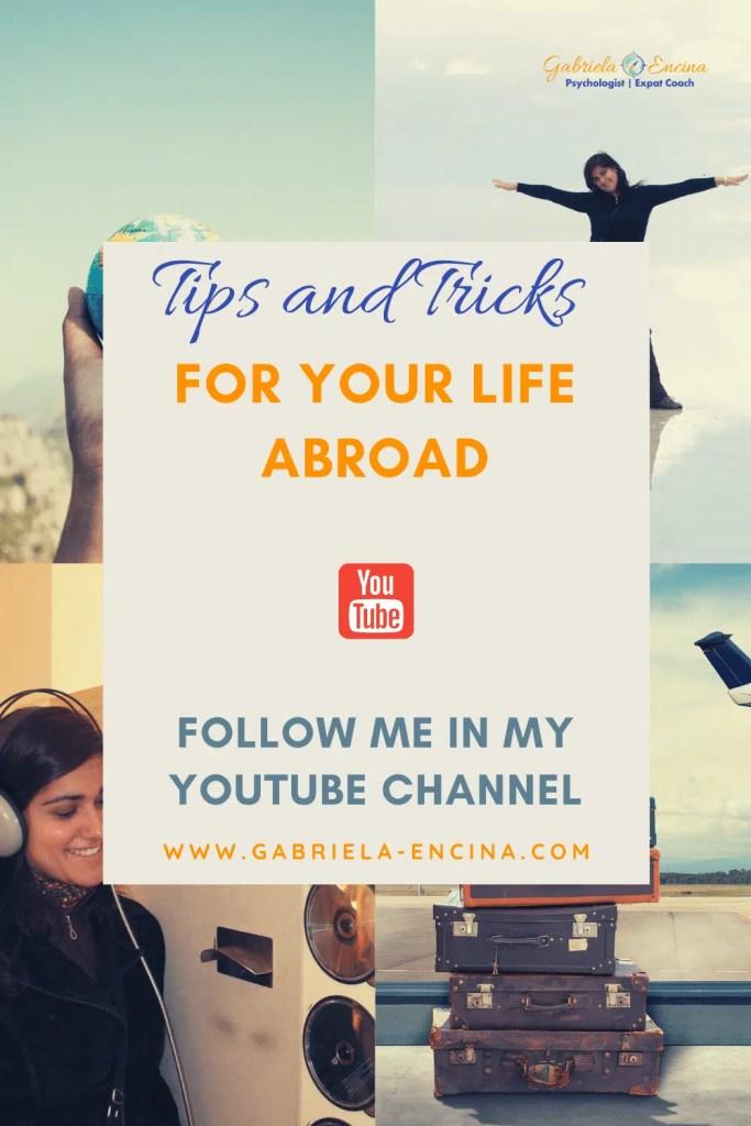 Gabriela Encina's youtube channel pinterest blog