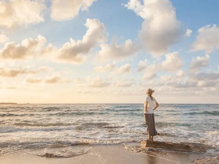 Woman Free beach Roadmap Gabriela