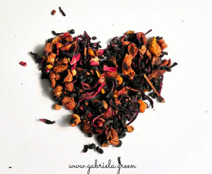 Autumn Teas I Love. Fruit Tea. Gabriela Green