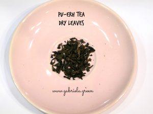 Beginner's guide to Pu-erh tea |Pu-erh dry leaves| Gabriela Green