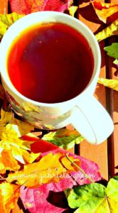 Tea talk: Autumn leaves and positive thoughts | Gabriela Green | www.gabriela.green