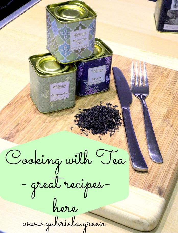 Cooking with tea.Here are some great recipes ideas for cooking with tea. Gabriela Green