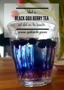 What is black goji berry tea pin 2