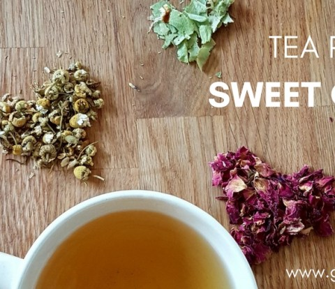 Tea Recipe Sweet Calm - Gabriela Green - www.gabriela.green