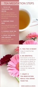 Tea Meditation Steps www.gabriela.green