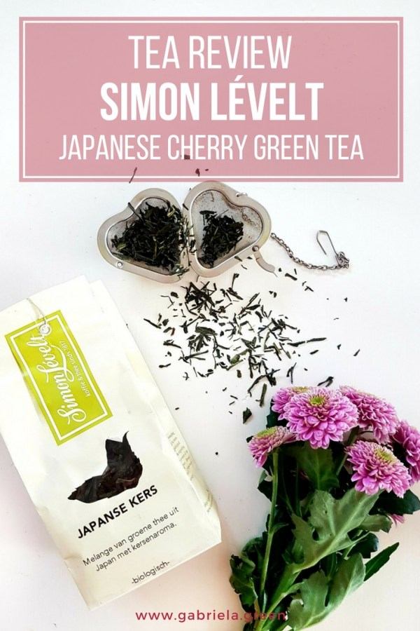 Tea review_ Simon Lévelt Japanse Kers (Japanese cherry)_ www.gabriela.green