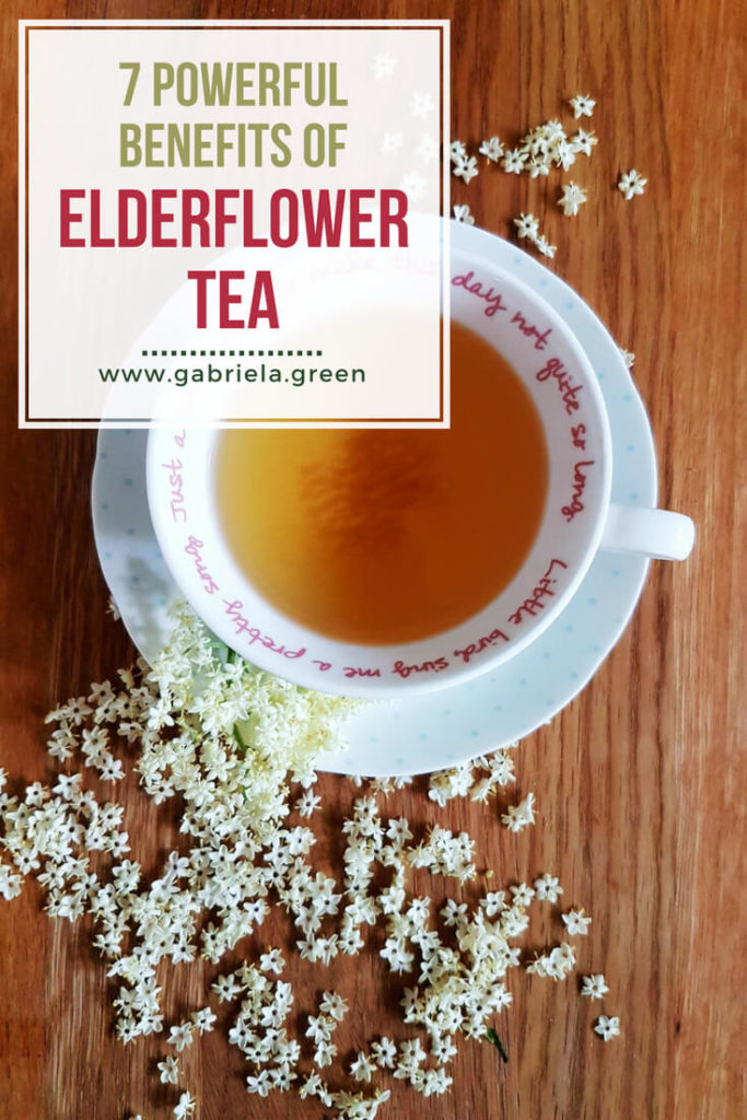 7 Powerful benefits of Elderflower tea_ www.gabriela.green