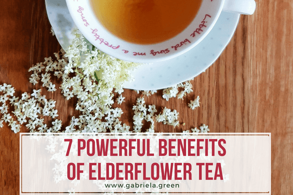 7 Powerful benefits of Elderflower tea www.gabriela.green